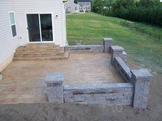 stamped concrete patio www minneapolis concrete com gardening