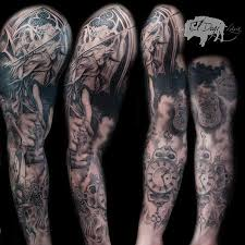 religious sleeve by ryan el dugi lewis tattoos