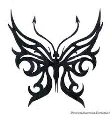 tribal crown designs butterfly designs ideas for