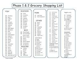 south beach diet grocery list phase 1 thai south beach