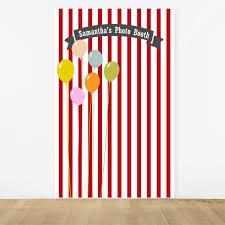 Personalized Photo Backdrop Birthday Balloon Personalized Photo Booth Backdrop Birthday