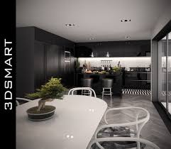 beautiful modern kitchen design by romet mets used software