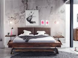 chambre acacia lit duna en acacia massif hasena fabricant suisse meuble pour la