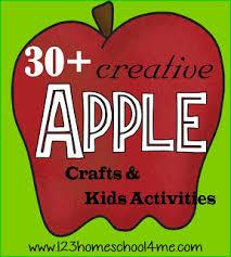 apple theme preschool worksheets