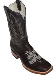 amazon com men u0027s genuine cow hide leather cowboy boots square
