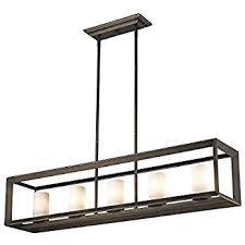 five light pendant golden lighting 2073 lp gmt op smyth five light linear pendant