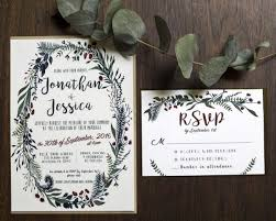 wedding invitations greenery greenery wedding invitations aisle society