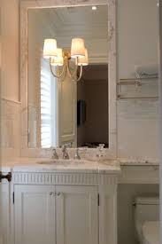 Bathroom Mirror Trim by 142 Best Home Hall Bath Marble Wainscotting Images On Pinterest