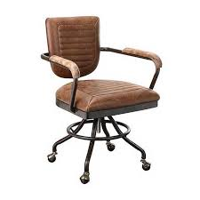 Modern Desk Chair Foster Modern Desk Chair Brown By Moe S Home