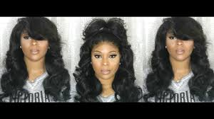 how to salvage flexi rod hairstyles big heatless curls flexi rod hair tutorial sew in lace frontal