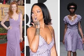 Colour Trend by Lilac Purple Fashion And Beauty Fenwick
