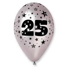 25 ans de mariage ballons 25 ans de mariage ballons noces d argent ballon argent
