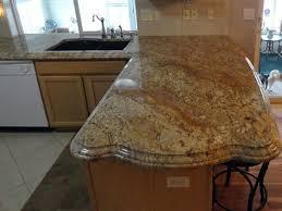 Granite Countertops Ideas Kitchen Best 25 Granite Countertop Edges Ideas On Pinterest Kitchen