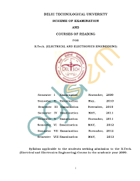 eee syllabus dtu documents