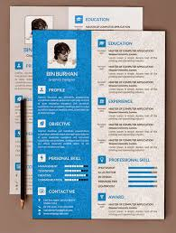 Photography Resume Template Psd Resume Template Photographer Resume Template Photoshop Psd