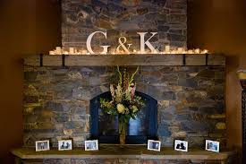 wedding backdrop initials wedding mantle decor our initials my wedding