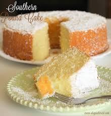 southern pound cake with a lemon fresh moist spongy base and a
