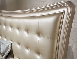 Harmony Platform Bedroom Set Dynasty Gold Metallic Upholstered Platform Bedroom Set From Samuel