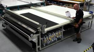 quality raytech r3100 cutting table for roller blinds youtube