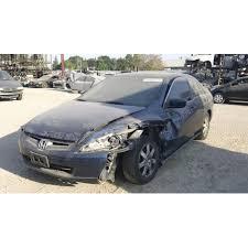 2005 honda accord coupe parts used 2005 honda accord ex parts car blue with black interior 4