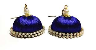 buy jhumka earrings online fashion handmade ethnic hook jhumka earrings