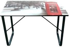verre pour bureau plateau verre trempac bureau meuble tv verre trempac bureau bureau