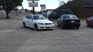 2006 white bmw 325i 2006 bmw 325i getting some 20 black rims installed