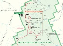 Utah National Park Map by Sunrise Point Bryce Canyon National Park Utah Blog Alex
