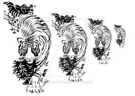 tribal tiger by luisarosati on deviantart