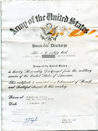 honorable discharge certificate joseph gammey the calimesa library history archive