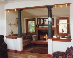 like for the visual divider between the living room and dining