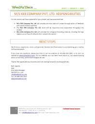 simple sales proposal template web design proposal sample