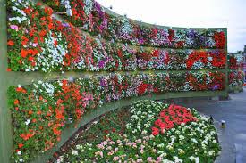 How To Design A Flower Bed Vertical Garden Design Home Ideas Decor Gallery