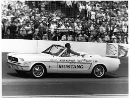 mustang of indianapolis mustangs 1964 indy 500 pace car americanmuscle com