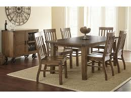 steve silver dining room hailee table with 18 u0027 u0027 leaf ha500t