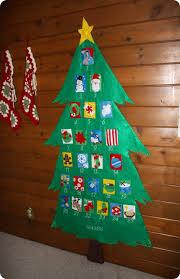 tree advent calendar with ornaments rainforest islands