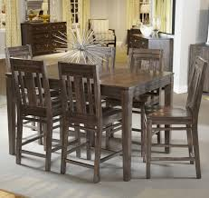 7 piece dining room table sets seven piece casual counter height dining set by kincaid furniture