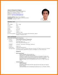 28 Resume Samples For Sample by Resume Sample For Freshers With Photo Attached Resume Ixiplay