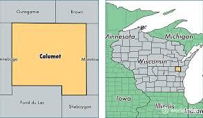 map of calumet michigan calumet county wisconsin map of calumet county wi where is