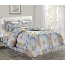 bed in a bag comforter set king size size bedding