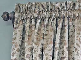 Top And Bottom Rod Curtains Custom Draperies U003e Royal Window Fashions