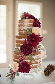 wedding cake no icing an woodsy themed wedding with cakes wedding cake