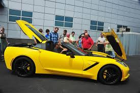 yellow corvette c7 velocity yellow thread