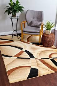 Discount Modern Rugs Amazing Discount Modern Rugs 4 2035 Beige Black Contemporary Area