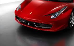 ferrari front view red ferrari super fast car hd wallpaper wallpapercare