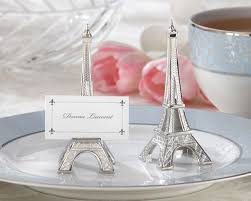 eiffel tower favors eiffel tower place card holder parisian wedding decor by kate aspen