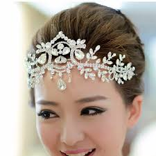hair accessories for weddings silver plated hair accessories wedding tiaras