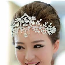 wedding tiaras silver plated hair accessories wedding tiaras