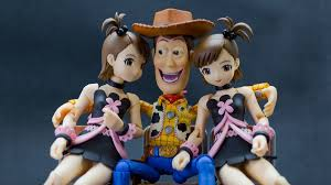 Revoltech Woody Meme - the return of japan s creepiest action figure