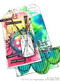 super colorful viva las vegastamps color chaos tag by jenn engle